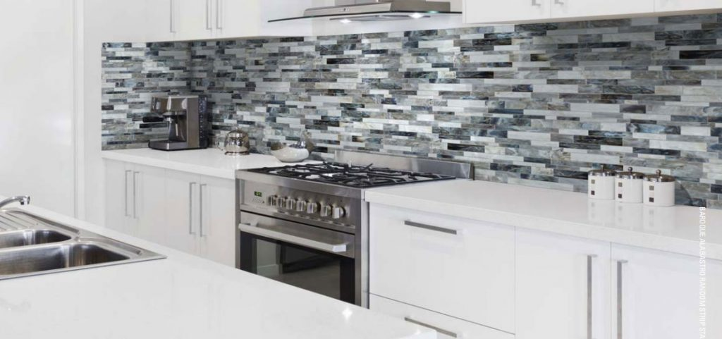 Kelowna Glass Backsplash