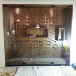 Wine Room Glass Door