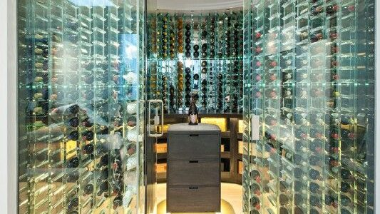wine cellar glass for your home