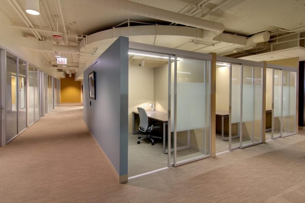 glass cubicle for offices