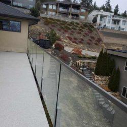 Patio Glass Railings