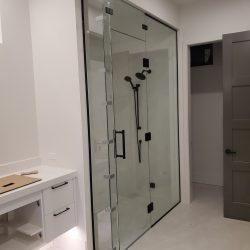 Glass shower enclosure in Kelowna